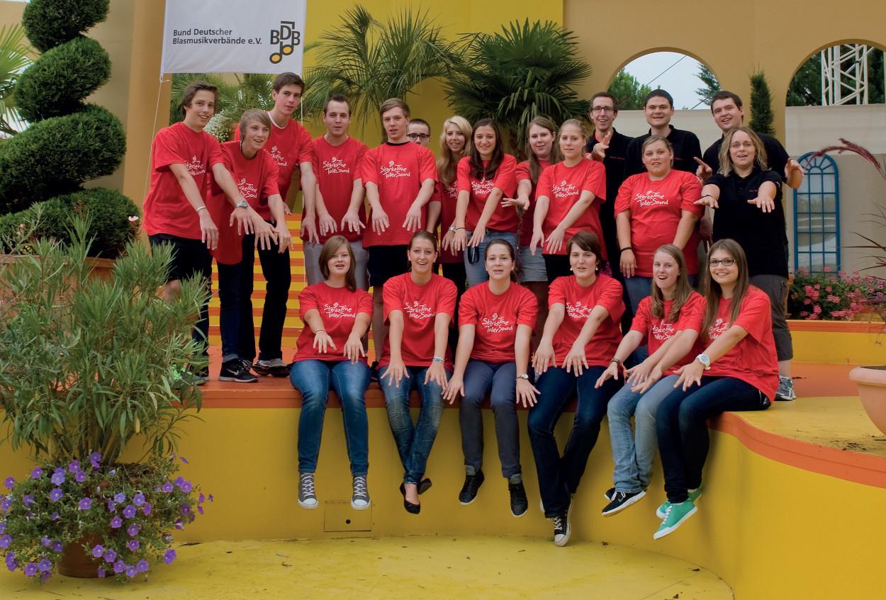 Gruppenfoto Jugendleitercamp 2013