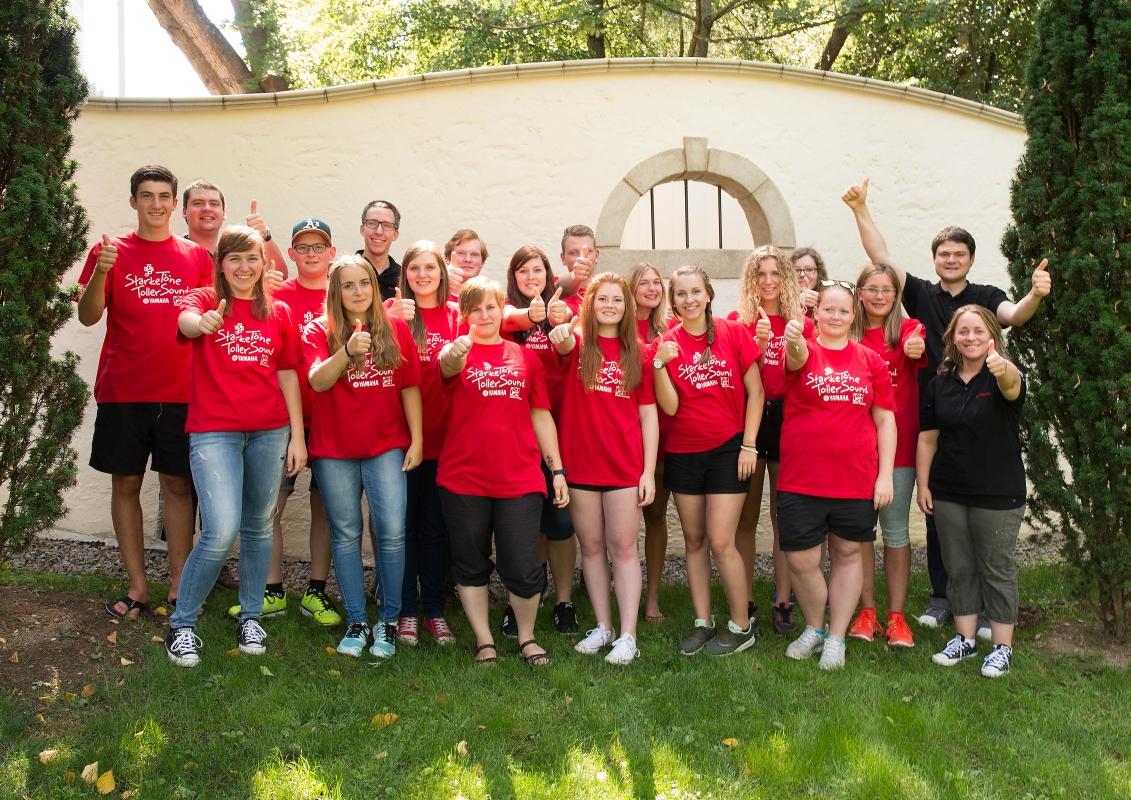 Gruppenfoto BDB-Jugendleitercamp 2015