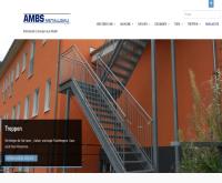 Webpageansicht Metallbau Ambs