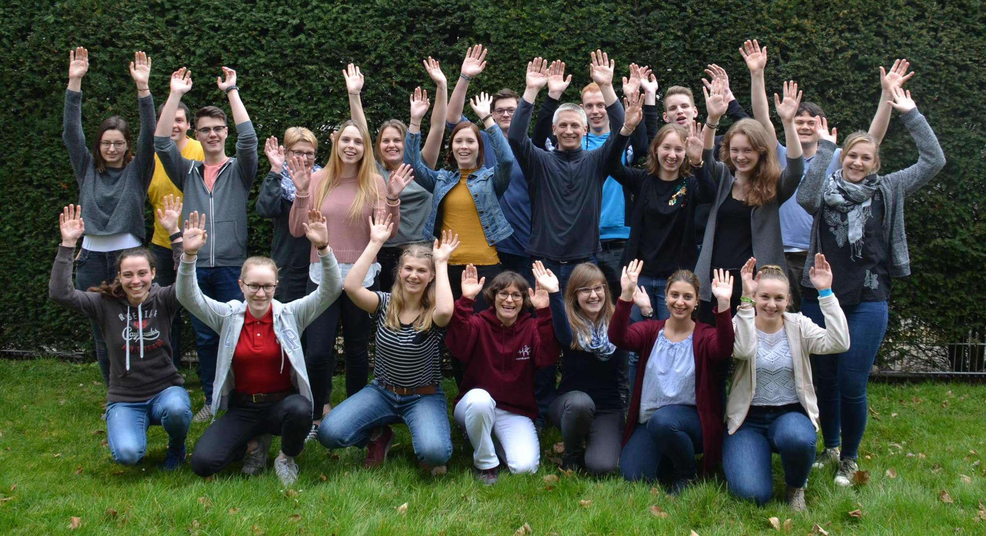 Gruppenfoto Jugendleiter-Basismodul 2018