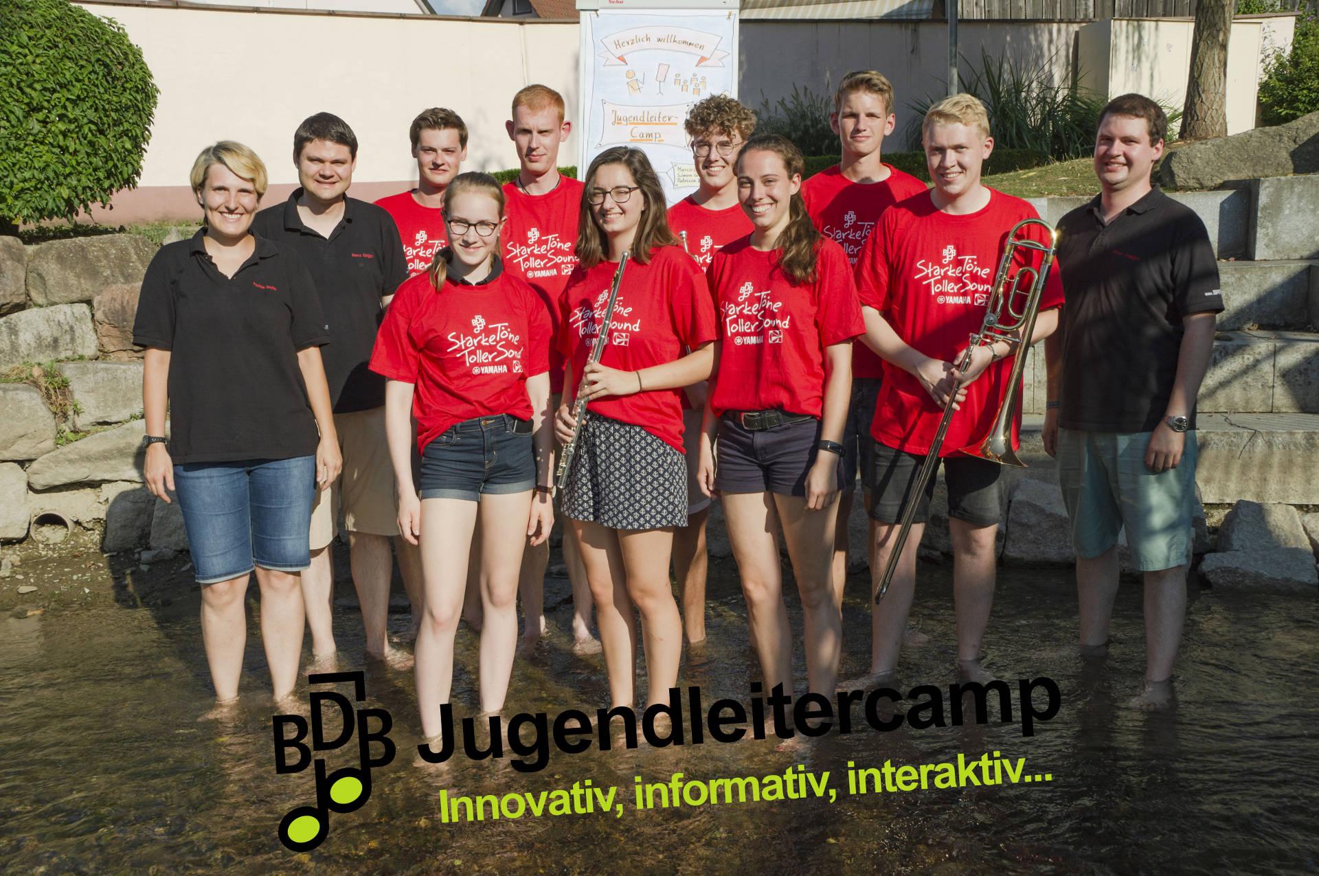Gruppenfoto BDB-Jugendleitercamp 2018