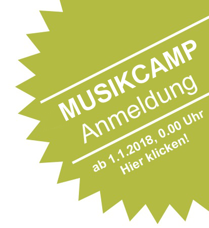 Anmeldung zum 13. BDB-Musikcamp 2018