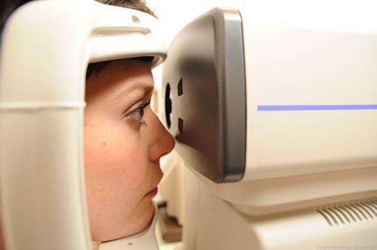 Sehtest bei Optiker Krille in Rostock