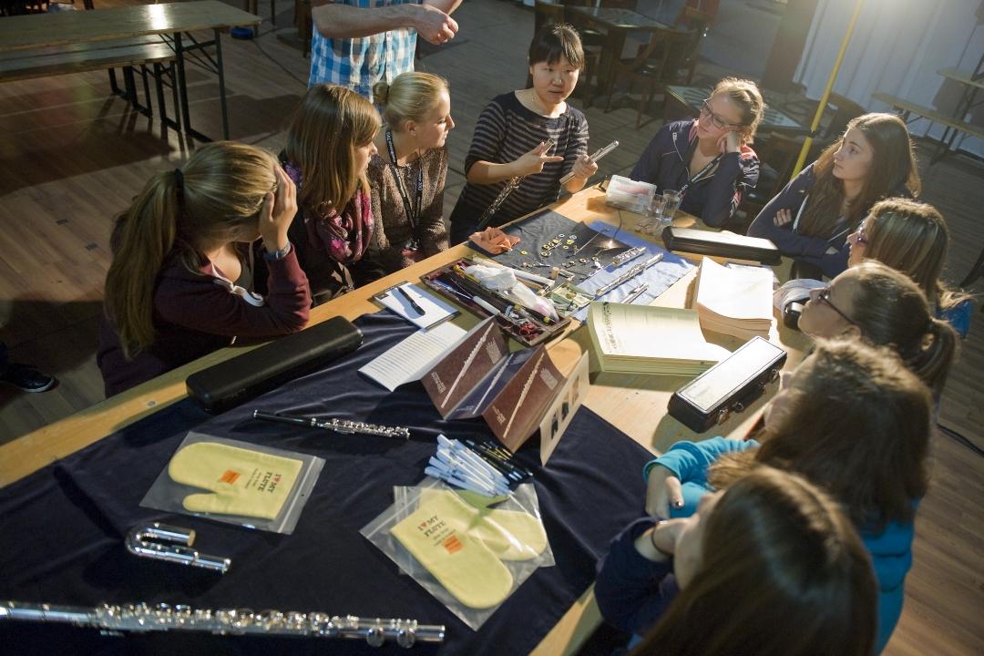 Fotos Instrumentenpflege Workshop