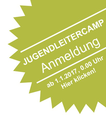 Anmeldung zum 8. BDB-Jugendleitercamp 2017