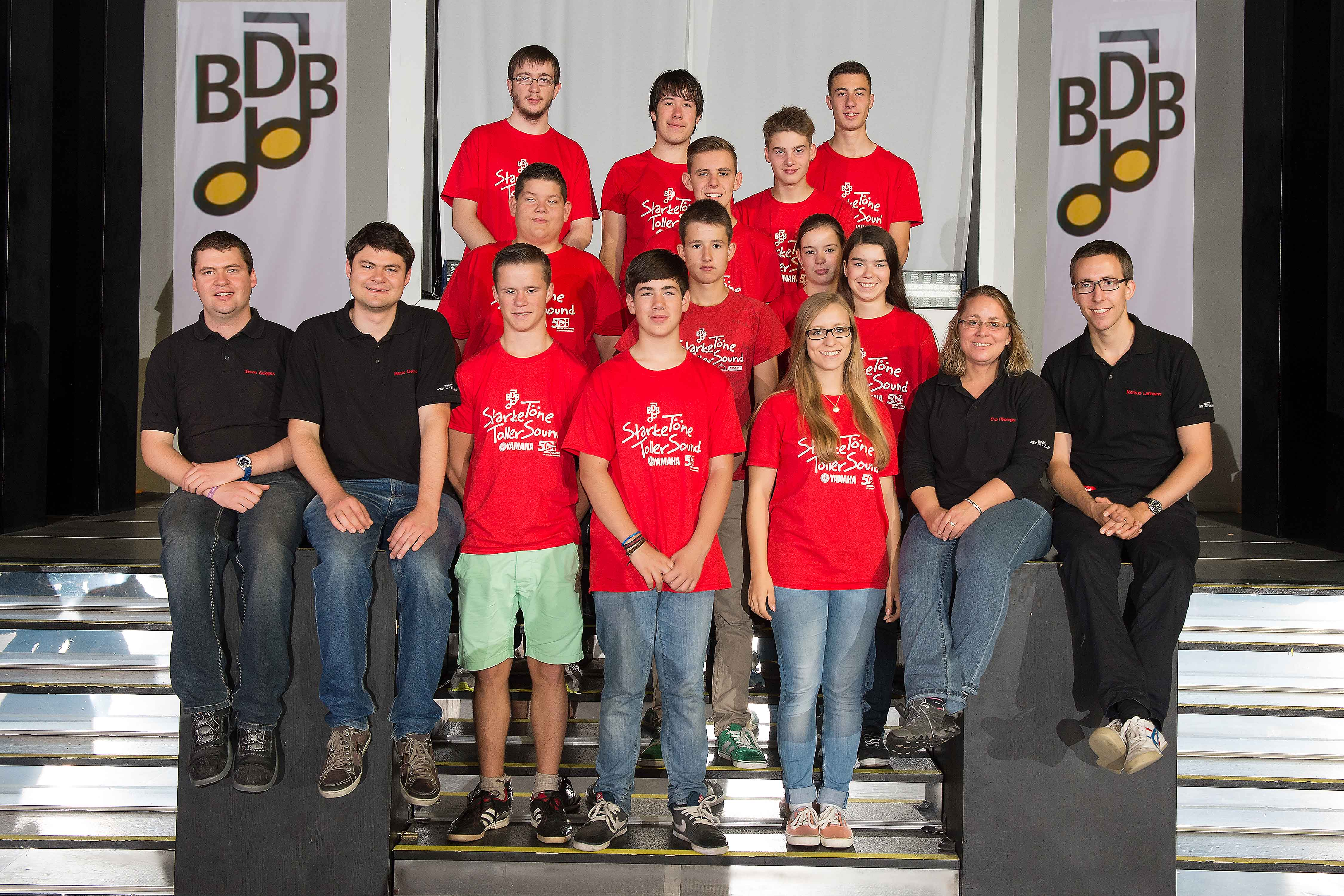 Gruppenfoto BDB-Jugendleitercamp 2014