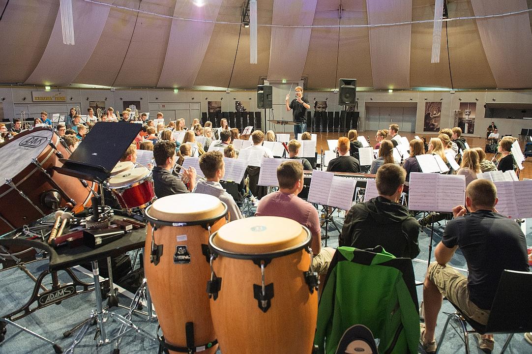 Das Dome-Orchester im BDB-Musikcamp 2014