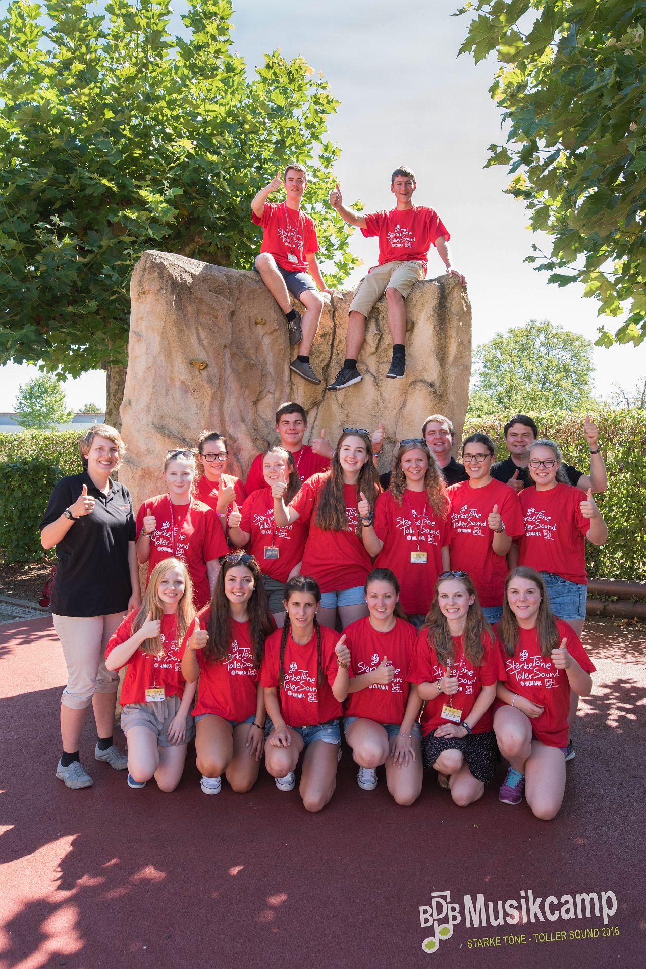 Gruppenfoto BDB-Jugendleitercamp 2016