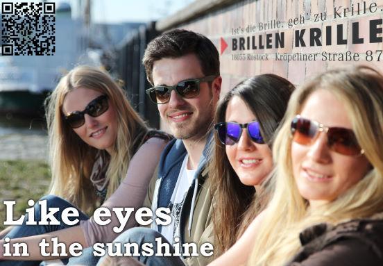 Sonnenbrillen 2012 von Brillen Krille in Rostock