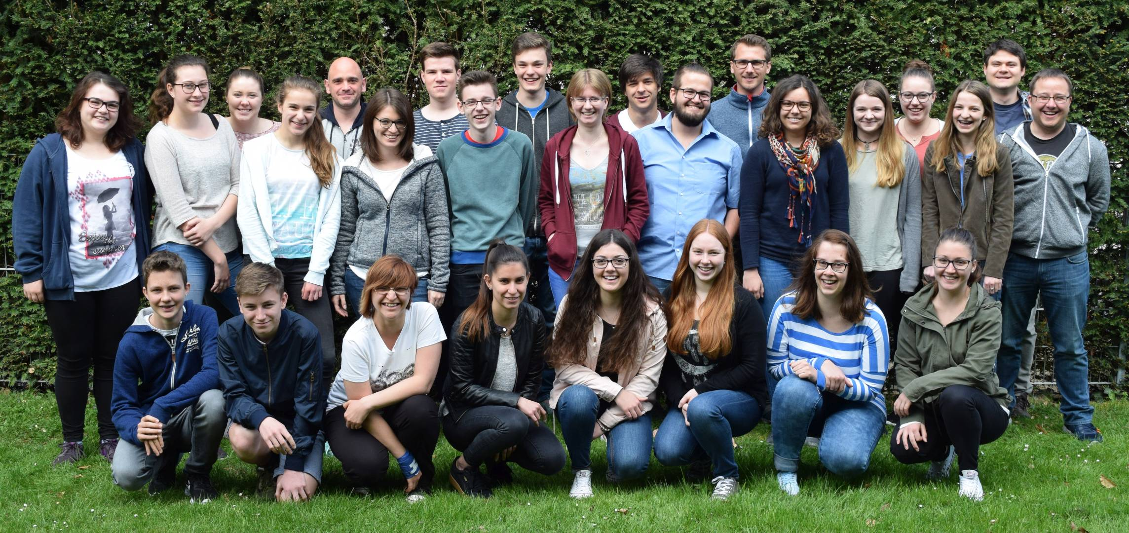Gruppenfoto des Jugendleiter-Basismoduls 2017