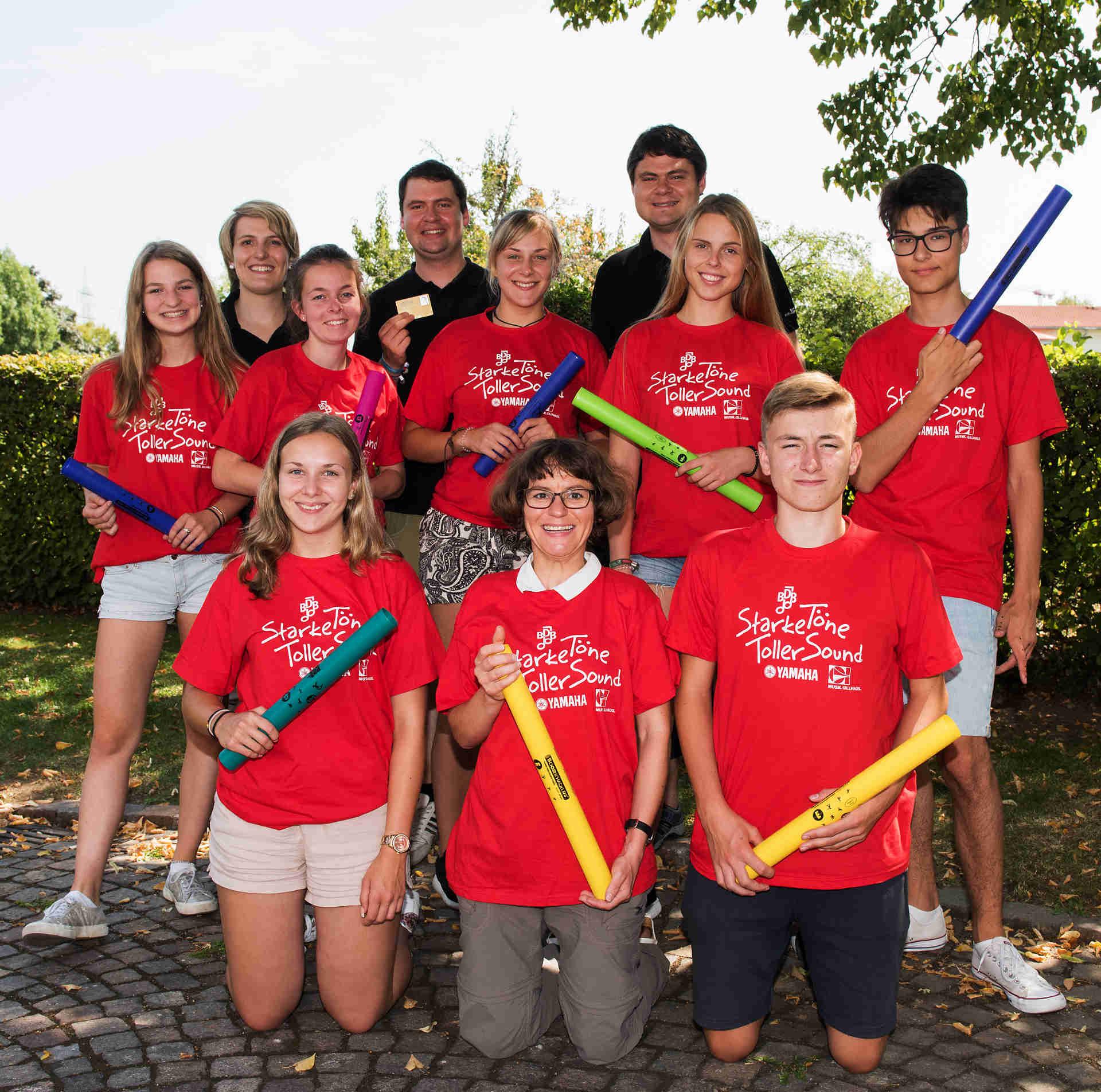 Gruppenfoto BDB-Jugendleitercamp 2017