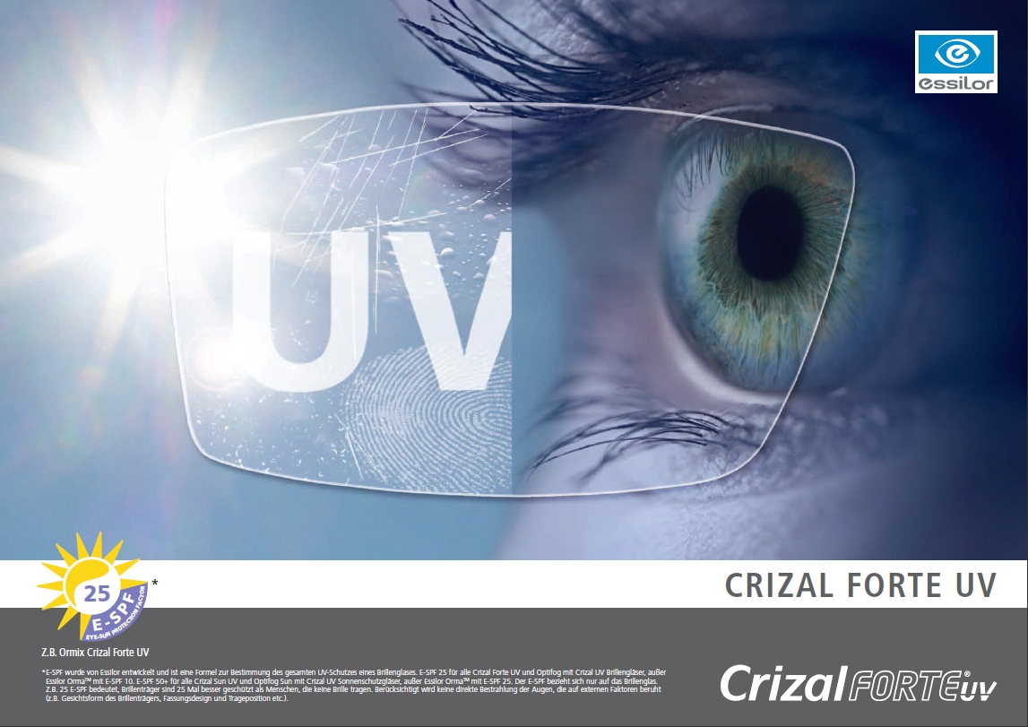 Crizal UV bei Brillen Krille in Rostock