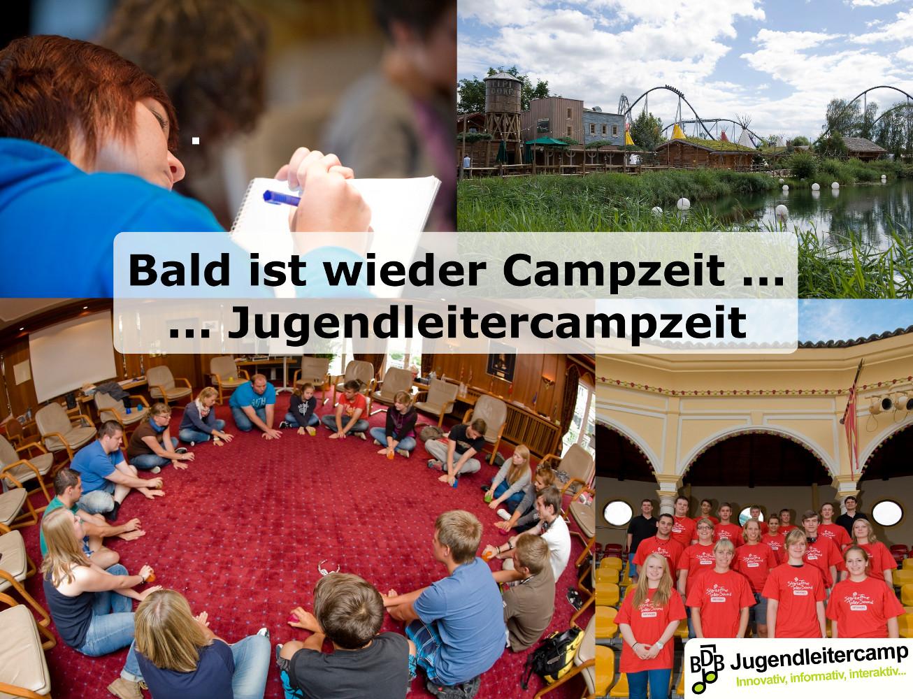 Bald ist wieder Campzeit - 8. BDB-Jugendleitercamp 2017